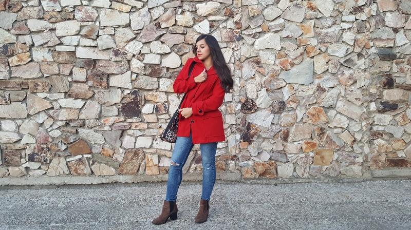 Look rojo pasion otoño 2017