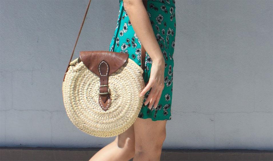 Los 12 Mejores bolsos de Rafia para este verano