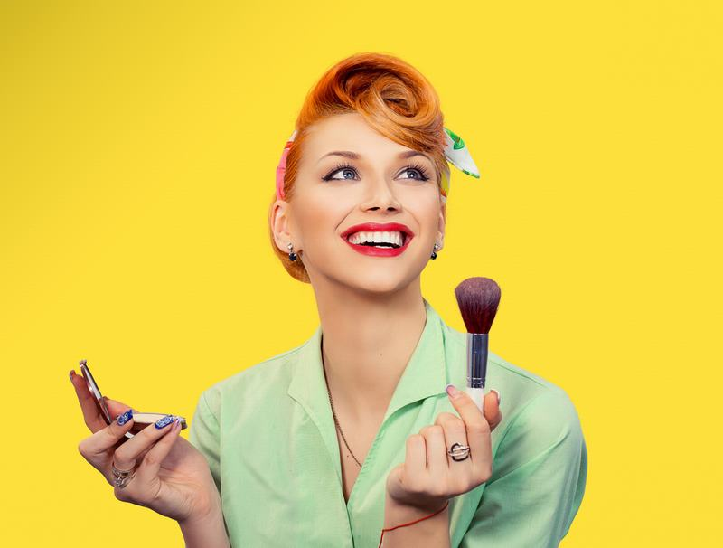 Maquillaje Pin up